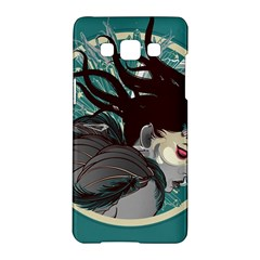 Angel Wings Paint  Samsung Galaxy A5 Hardshell Case  by amphoto