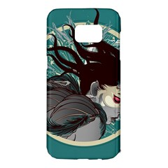 Angel Wings Paint  Samsung Galaxy S7 Edge Hardshell Case by amphoto