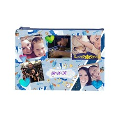 Xman By Heather   Cosmetic Bag (large)   7gkymsvv1onz   Www Artscow Com Front