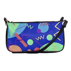 Memphis #42 Shoulder Clutch Bags by RockettGraphics