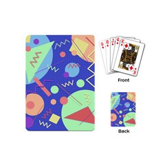 Memphis #42 Playing Cards (mini)  by RockettGraphics