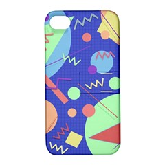 Memphis #42 Apple Iphone 4/4s Hardshell Case With Stand by RockettGraphics