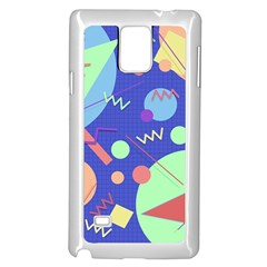 Memphis #42 Samsung Galaxy Note 4 Case (white) by RockettGraphics
