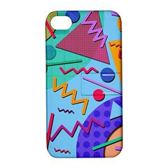 Memphis #10 Apple Iphone 4/4s Hardshell Case With Stand by RockettGraphics