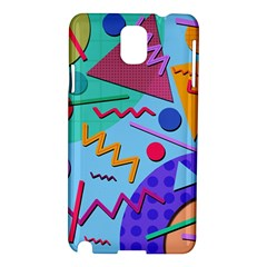 Memphis #10 Samsung Galaxy Note 3 N9005 Hardshell Case by RockettGraphics