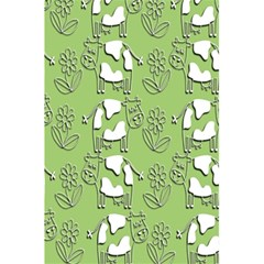 Cow Flower Pattern Wallpaper 5 5  X 8 5  Notebooks