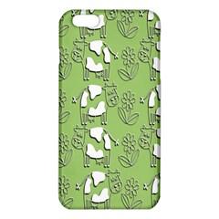 Cow Flower Pattern Wallpaper Iphone 6 Plus/6s Plus Tpu Case