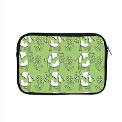Cow Flower Pattern Wallpaper Apple Macbook Pro 15  Zipper Case