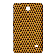 Chevron Brown Retro Vintage Samsung Galaxy Tab 4 (8 ) Hardshell Case  by Nexatart