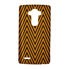 Chevron Brown Retro Vintage Lg G4 Hardshell Case by Nexatart