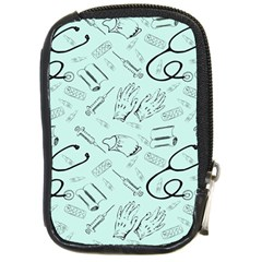 Pattern Medicine Seamless Medical Compact Camera Cases by Nexatart