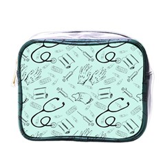Pattern Medicine Seamless Medical Mini Toiletries Bags
