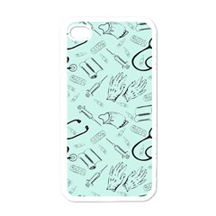 Pattern Medicine Seamless Medical Apple Iphone 4 Case (white) by Nexatart