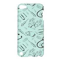 Pattern Medicine Seamless Medical Apple Ipod Touch 5 Hardshell Case
