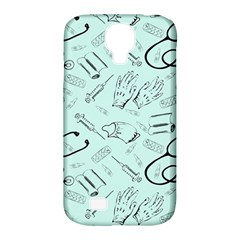 Pattern Medicine Seamless Medical Samsung Galaxy S4 Classic Hardshell Case (pc+silicone)
