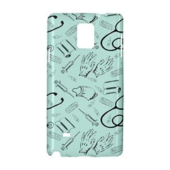 Pattern Medicine Seamless Medical Samsung Galaxy Note 4 Hardshell Case