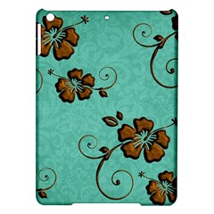 Chocolate Background Floral Pattern Ipad Air Hardshell Cases by Nexatart