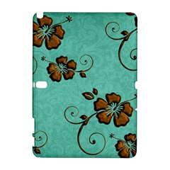 Chocolate Background Floral Pattern Galaxy Note 1 by Nexatart