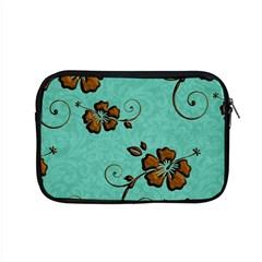 Chocolate Background Floral Pattern Apple Macbook Pro 15  Zipper Case