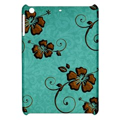 Chocolate Background Floral Pattern Apple Ipad Mini Hardshell Case by Nexatart