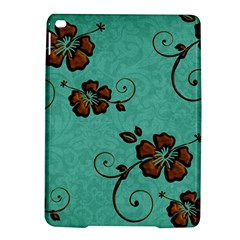 Chocolate Background Floral Pattern Ipad Air 2 Hardshell Cases by Nexatart