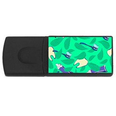 Pattern Seamless Background Desktop Rectangular Usb Flash Drive by Nexatart