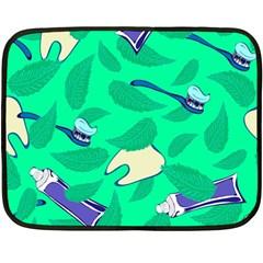 Pattern Seamless Background Desktop Fleece Blanket (mini)