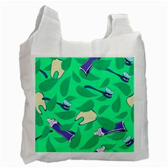 Pattern Seamless Background Desktop Recycle Bag (one Side)