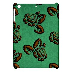 Chocolate Background Floral Pattern Apple Ipad Mini Hardshell Case