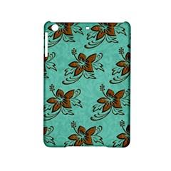 Chocolate Background Floral Pattern Ipad Mini 2 Hardshell Cases by Nexatart