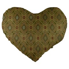 P¨|cs Hungary City Five Churches Large 19  Premium Flano Heart Shape Cushions