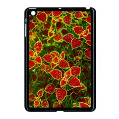 Flower Red Nature Garden Natural Apple Ipad Mini Case (black)