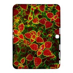 Flower Red Nature Garden Natural Samsung Galaxy Tab 4 (10 1 ) Hardshell Case
