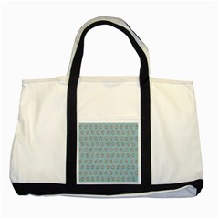 Texture Background Beige Grey Blue Two Tone Tote Bag by Nexatart