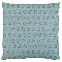 Texture Background Beige Grey Blue Standard Flano Cushion Case (two Sides)