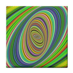 Ellipse Background Elliptical Tile Coasters