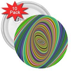 Ellipse Background Elliptical 3  Buttons (10 pack)