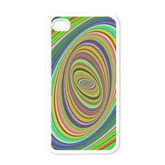 Ellipse Background Elliptical Apple Iphone 4 Case (white) by Nexatart