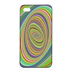 Ellipse Background Elliptical Apple Iphone 4/4s Seamless Case (black) by Nexatart