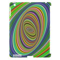 Ellipse Background Elliptical Apple iPad 3/4 Hardshell Case (Compatible with Smart Cover)