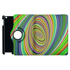 Ellipse Background Elliptical Apple Ipad 2 Flip 360 Case
