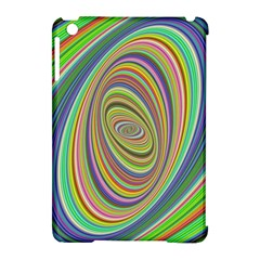 Ellipse Background Elliptical Apple iPad Mini Hardshell Case (Compatible with Smart Cover)
