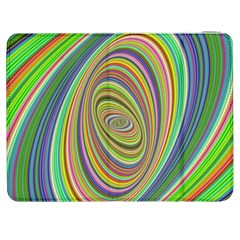 Ellipse Background Elliptical Samsung Galaxy Tab 7  P1000 Flip Case