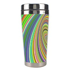 Ellipse Background Elliptical Stainless Steel Travel Tumblers