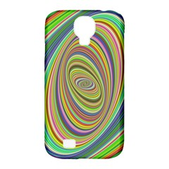 Ellipse Background Elliptical Samsung Galaxy S4 Classic Hardshell Case (pc+silicone)