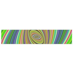 Ellipse Background Elliptical Flano Scarf (small)