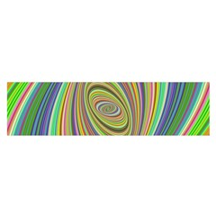 Ellipse Background Elliptical Satin Scarf (oblong)