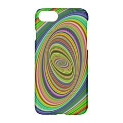 Ellipse Background Elliptical Apple Iphone 7 Hardshell Case by Nexatart