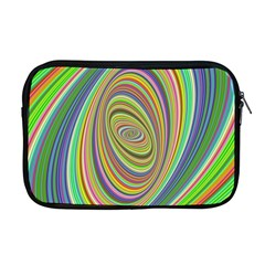 Ellipse Background Elliptical Apple Macbook Pro 17  Zipper Case by Nexatart