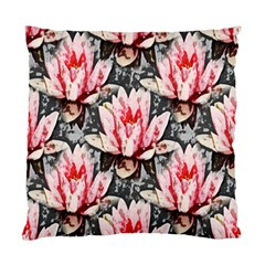 Water Lily Background Pattern Standard Cushion Case (one Side)